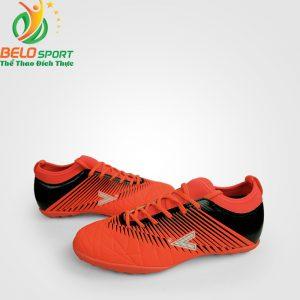 Giày bóng đá động lực MITRE MT-161110 màu đỏ đen pha cam chính hãng