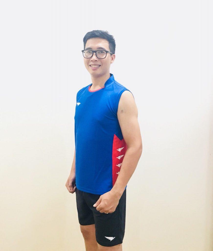 Áo bóng chuyền Hiwing H2 cao cấp chính hãng màu xanh bích