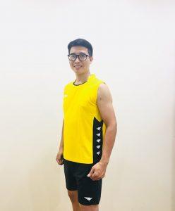 Áo bóng chuyền Hiwing H2 cao cấp chính hãng màu vàng