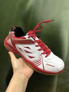 Giày bóng chuyền Kawasaki 2018 trắng pha đỏ giá cực rẻ
