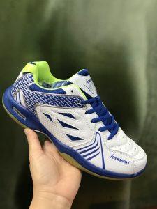 Giày bóng chuyền Kawasaki 2018 trắng pha xanh giá cực rẻ