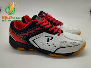 Giày bóng chuyền Promax chính hãng GIX 2019 màu trắng pha đỏ
