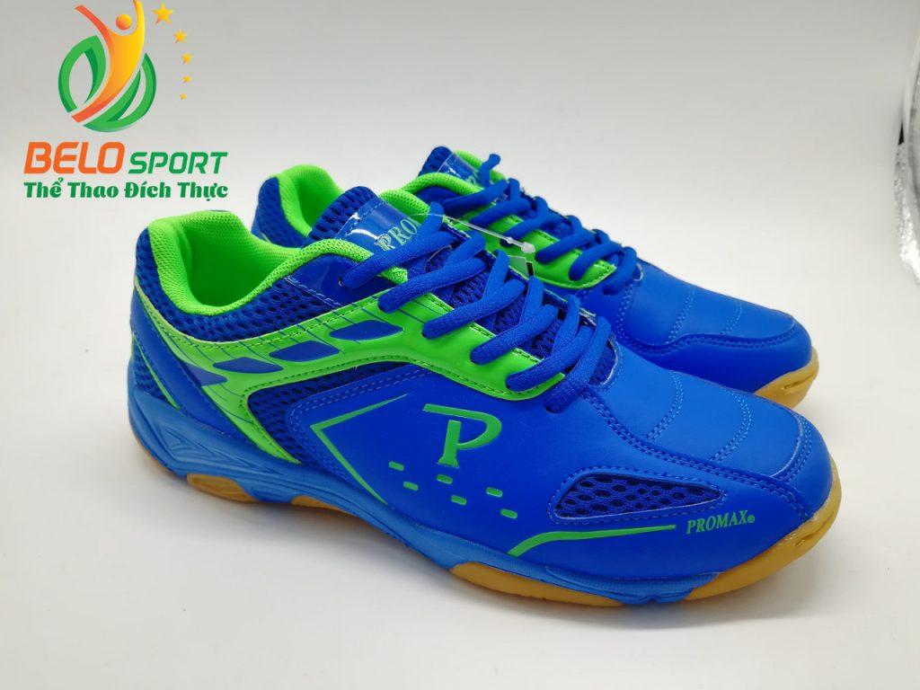 Giày bóng chuyền Promax chính hãng GIX 2019 màu xanh biển pha xanh lá