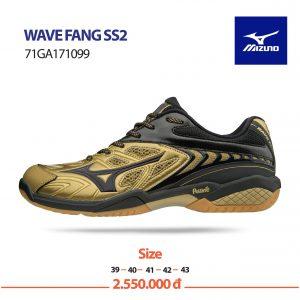 Giày bóng chuyền Mizuno chính hãng mã Wavefang SS2 – 71GA171099