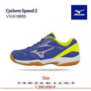 Giày bóng chuyền Mizuno chính hãng mã Cyclone Speed – VIGA198005