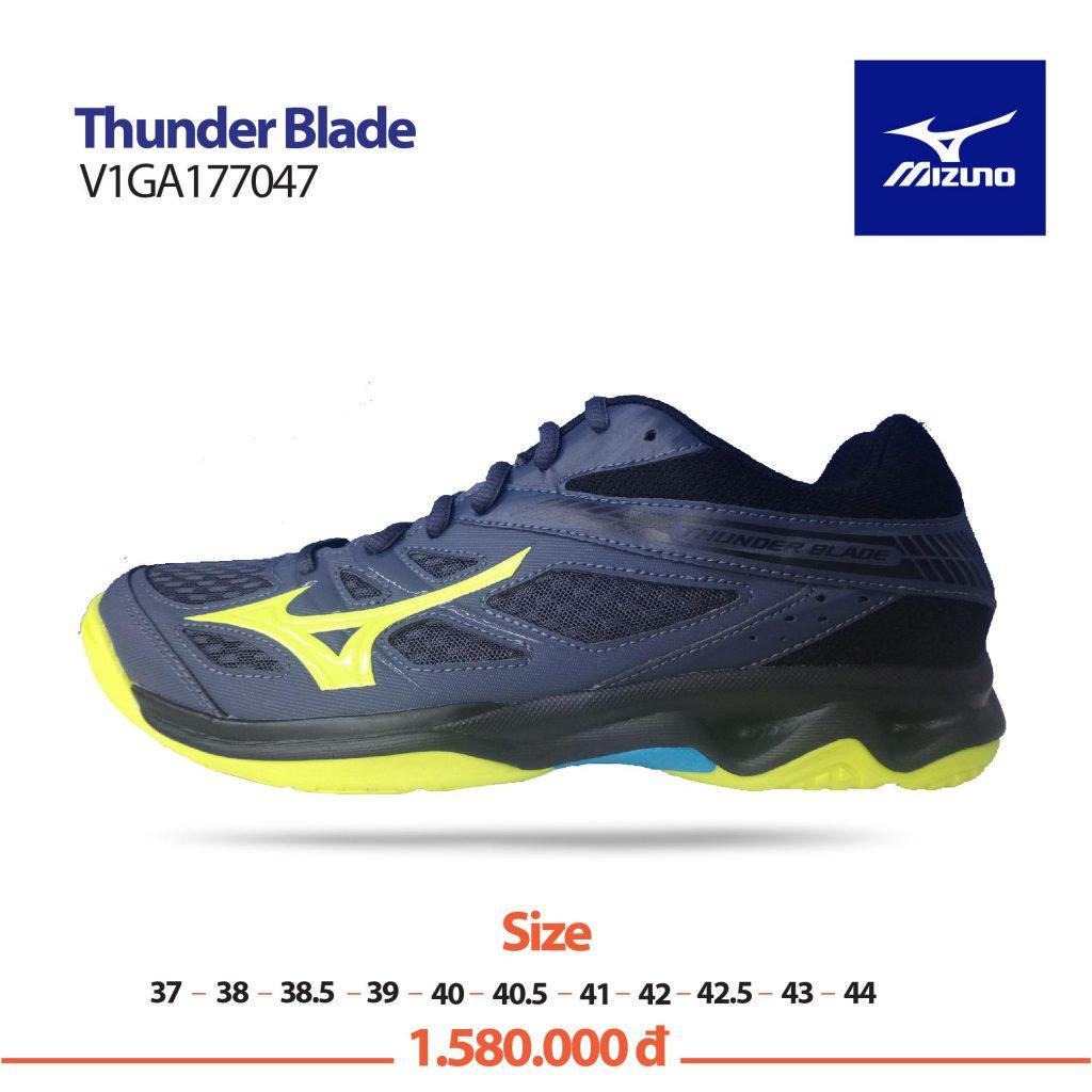 Giày cầu lông Mizuno chính hãng mã Wave smash L04- 71GA186001