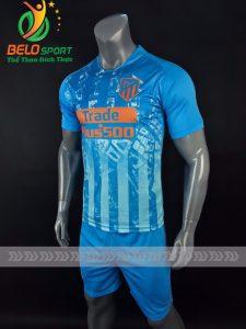 Áo bóng đá CLB Alentico màu xanh ngọc chế sân khách 2018-2019