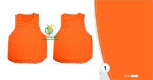 Áo lưới team building, áo tập bóng đá cao cấp màu cam