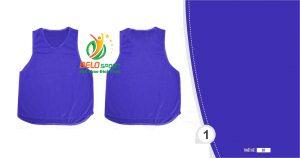 Áo lưới team building, áo tập bóng đá cao cấp màu xanh biển