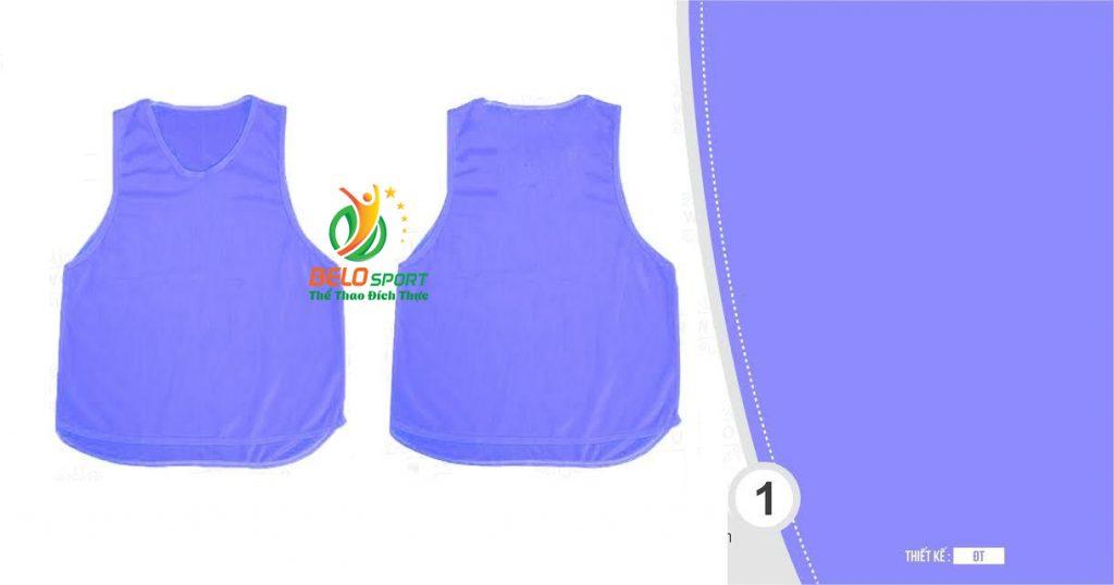 Áo lưới team building, áo tập bóng đá cao cấp màu xanh ngọc