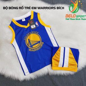 Áo bóng rổ trẻ em CLB Warrior Golden state giải NBA nhà nghề