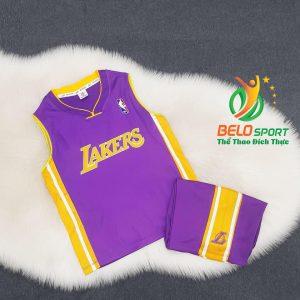 Áo bóng rổ trẻ em CLB Lakers giải NBA nhà nghề