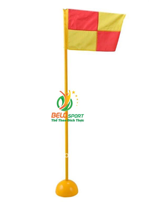 Bộ cờ góc bóng đá ( 4 góc ) gồm cờ, cột, trụ, đế