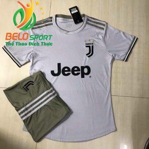 Áo bóng đá câu lạc bộ Juvetus 2018-2019 màu xám
