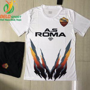 Áo bóng đá câu lạc bộ Asroma 2018-2019 màu trắng