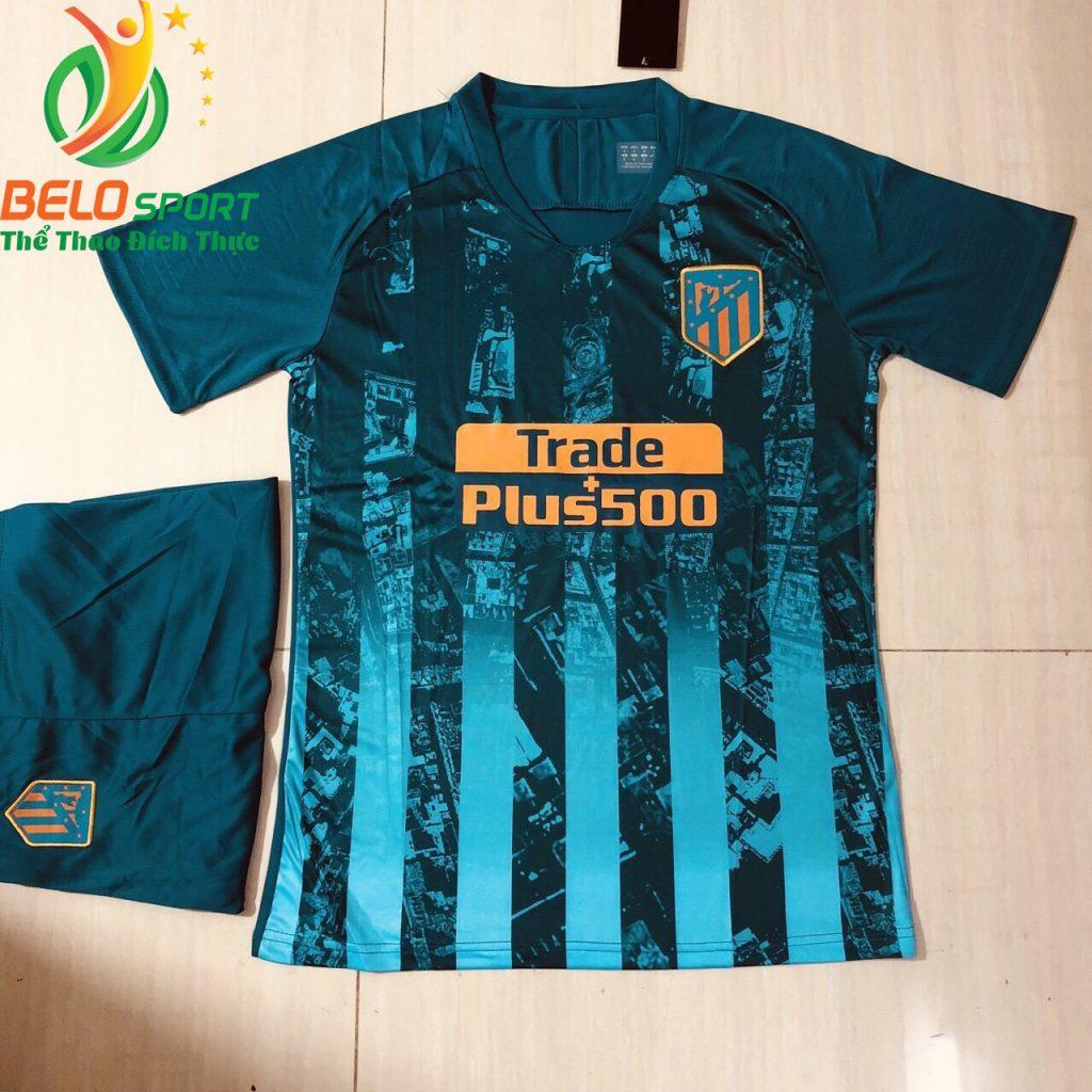 Áo bóng đá câu lạc bộ Alentico 2018-2019 màu xanh