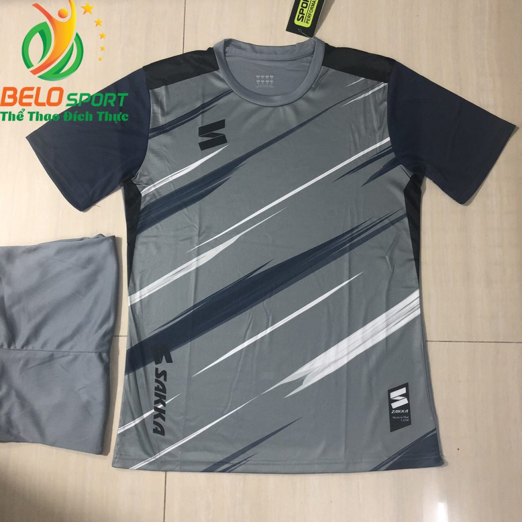 Áo bóng đá không logo 2019-2020 màu xám