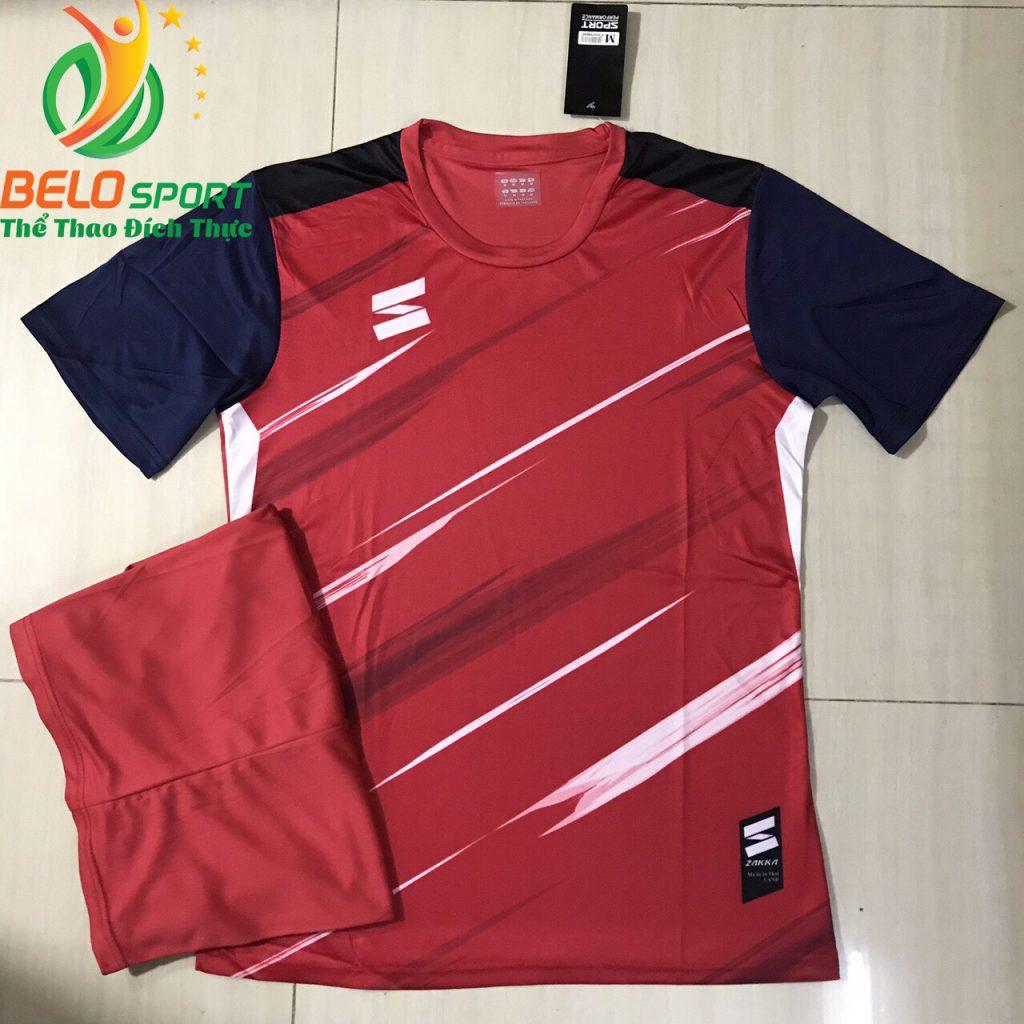 Áo bóng đá không logo 2019-2020 màu đỏ