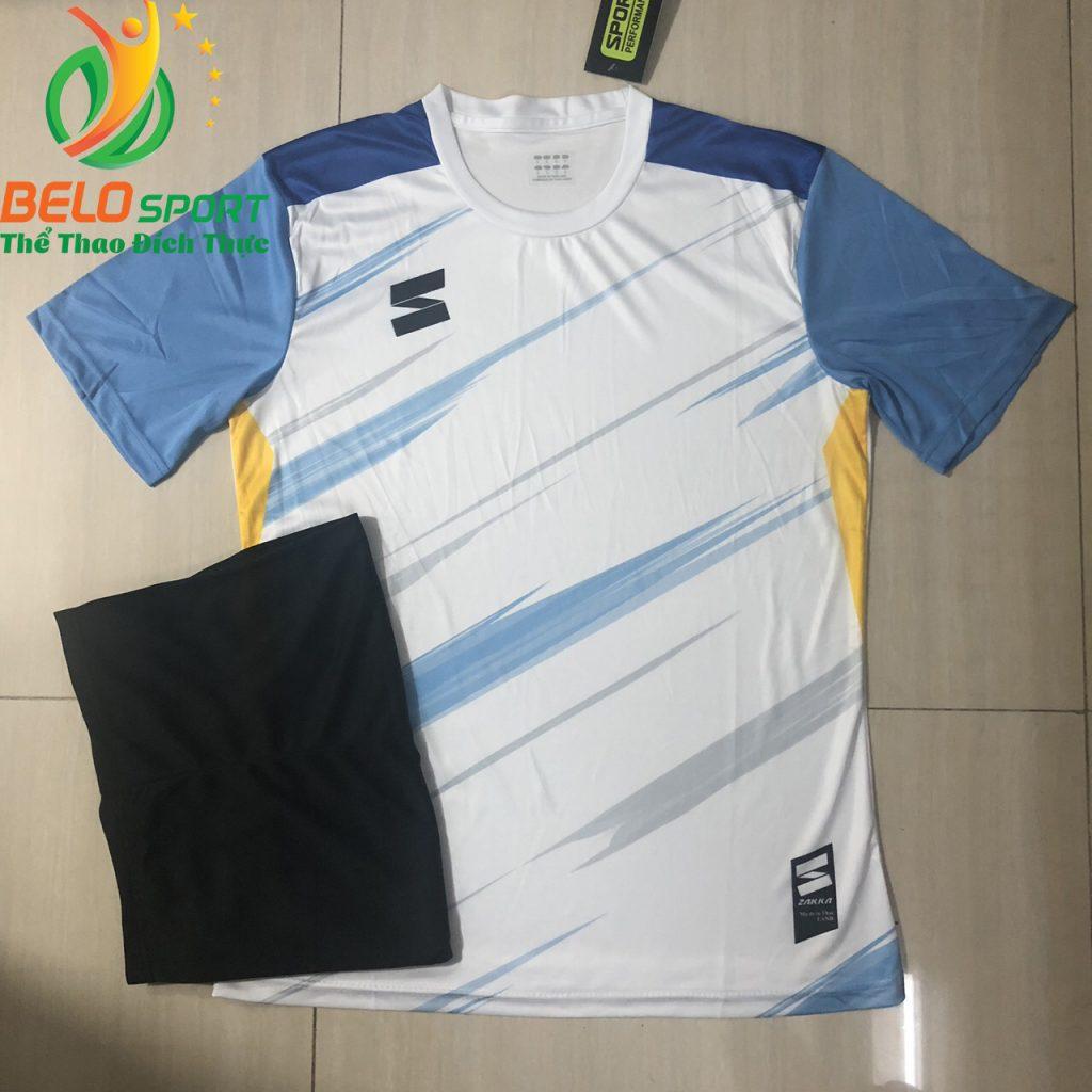 Áo bóng đá không logo màu  2019-2020 màu trắng