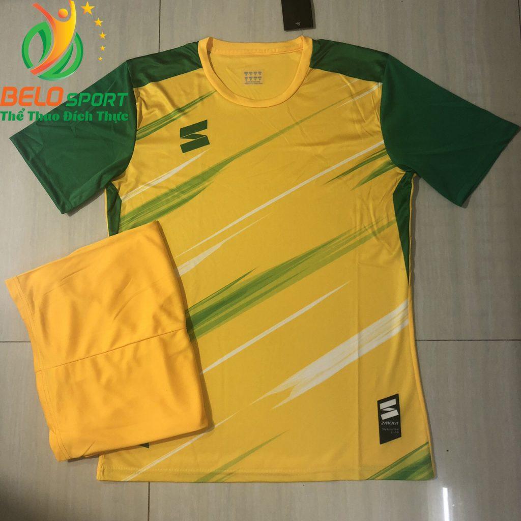 Áo bóng đá không logo 2019-2020 màu vàng