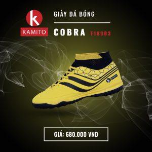 Giày Bóng đá Kamito cobra F18303 chính hãng màu vàng