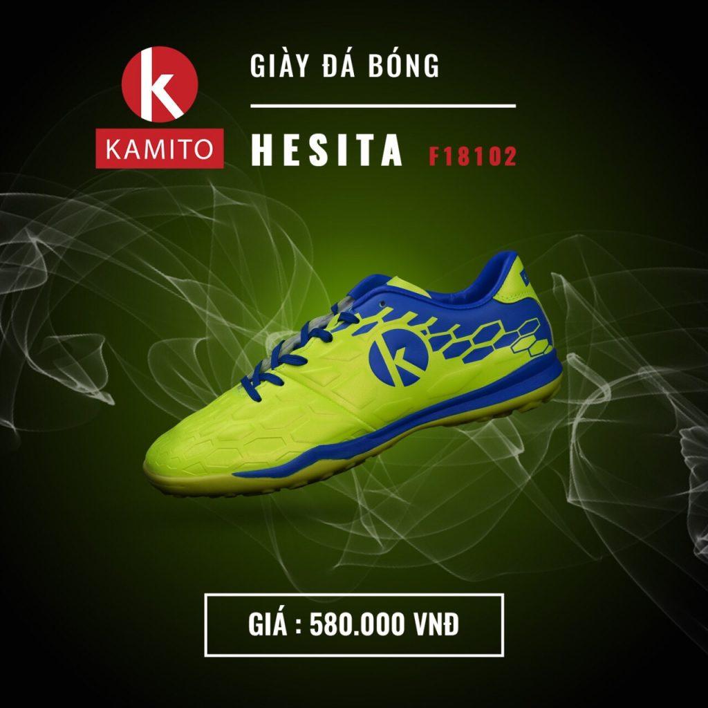 Giày bóng đá Kamito Hesita F18102 chính hãng