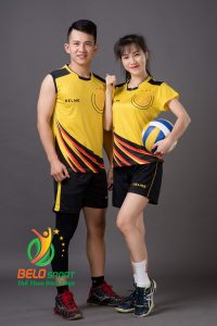 Áo bóng chuyền nam Kelme K-066 màu vàng
