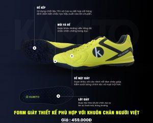 Giày bóng đá Kamito Velocidad F181201 chính hãng