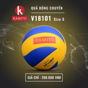 Quả Bóng chuyền Kamito V18101 size 5