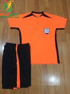 Áo Trọng Tài FiFa 2019 mã 068 màu cam