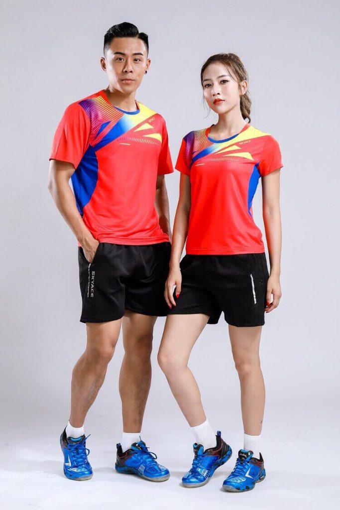 Áo cầu lông Yonex nam nữ 2019 mã ACL-888 màu đỏ