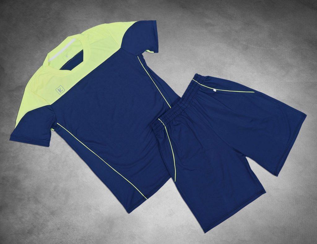 Áo Bóng đá cao cấp 2019 – B01 màu xanh tím than