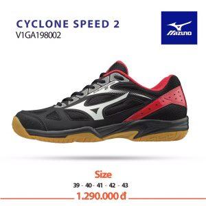 Giày bóng chuyền Mizuno Cyclone speed2 V1GA198002 chính hãng