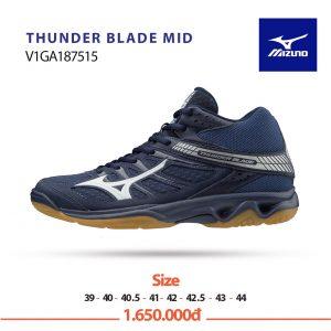 Giày bóng chuyền Mizuno Thunder Blade Mid V1GA187515 chính hãng