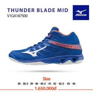 Giày bóng chuyền Mizuno Thunder Blade Mid V1GA187500 chính hãng