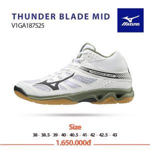 Giày bóng chuyền Mizuno Thunder Blade Mid V1GA187525 chính hãng