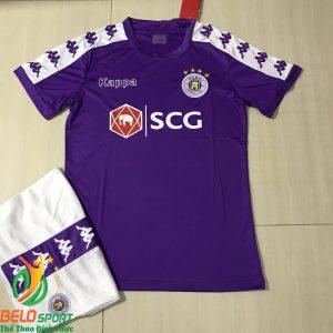 Áo bóng đá CLB Hà Nội T&T 2019 giá rẻ màu tím