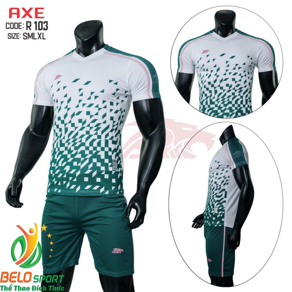 Áo bóng đá không lô gô K-001 2019 giá rẻ màu xanh lá