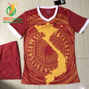 Áo Bóng đá đội tuyển Việt Nam độc quyền 2019 màu đỏ