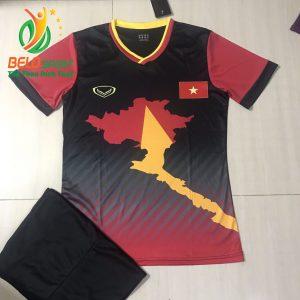 Áo Bóng đá đội tuyển Việt Nam độc quyền 2019 màu đen