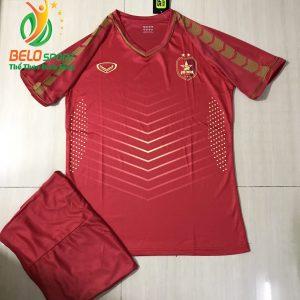 Áo bóng đá Việt Nam FiFa online màu đỏ