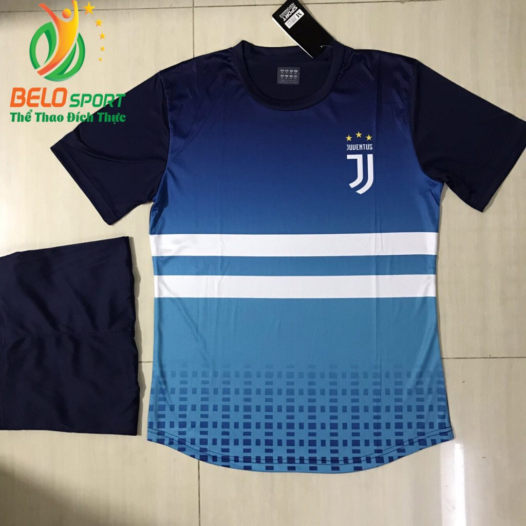Áo bóng đá CLB juvestus 2019 màu xanh