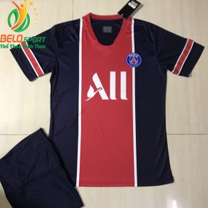Áo bóng đá CLB PSG 2019 màu tím than pha đỏ