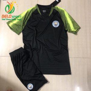 Áo bóng đá Mancity sân khách màu đen 2019-2020 chuyên sỉ