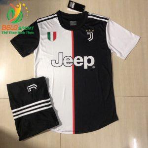 Áo bóng đá Juventus màu trắng đen sân nhà 2019-2020 chuyên sỉ