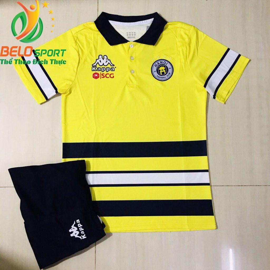 Áo bóng đá di chuyển CLBHà Nội T&T 2019-2020 màu vàng