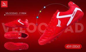 Giày Kamito chính hãng F19502 màu đỏ chuyên sỉ