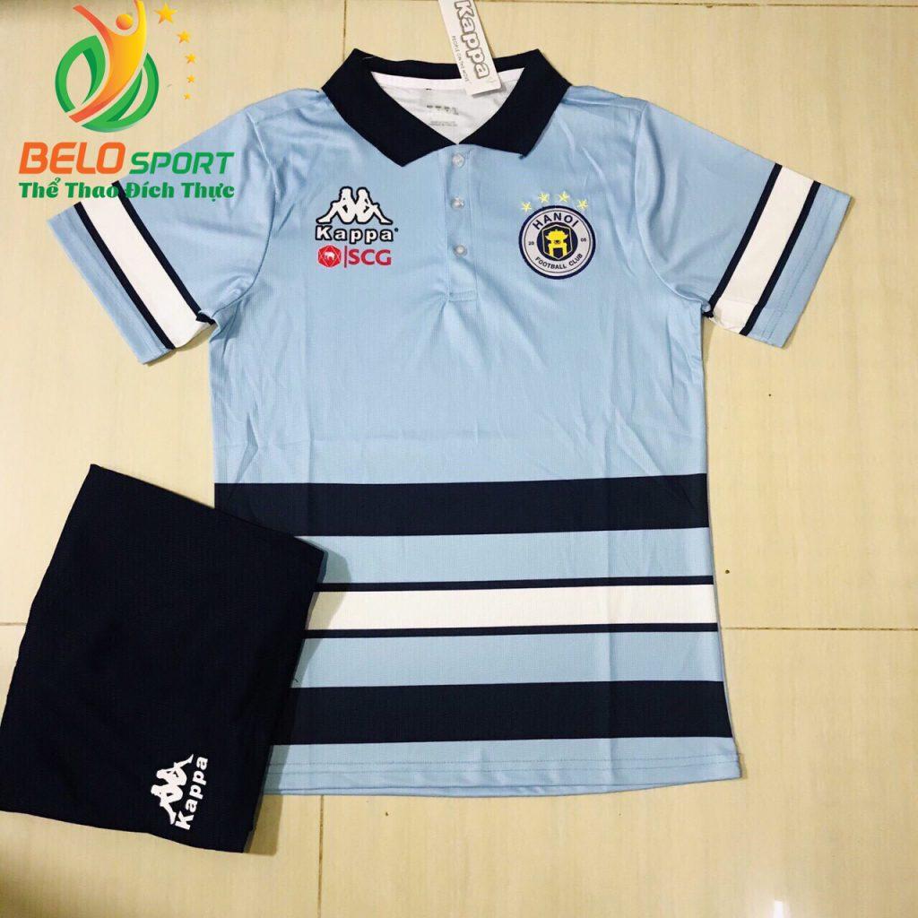 Áo bóng đá di chuyển CLB Hà Nội T&T 2019-2020 màu xanh ngọc