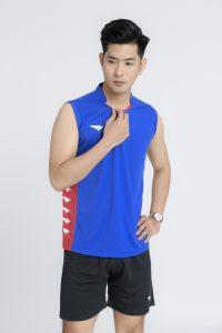 Áo bóng chuyền Hiwing Hero cao cấp chính hãng màu xanh bích