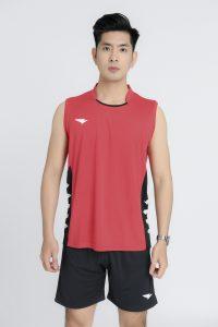 Áo bóng chuyền Hiwing Hero cao cấp chính hãng màu đỏ